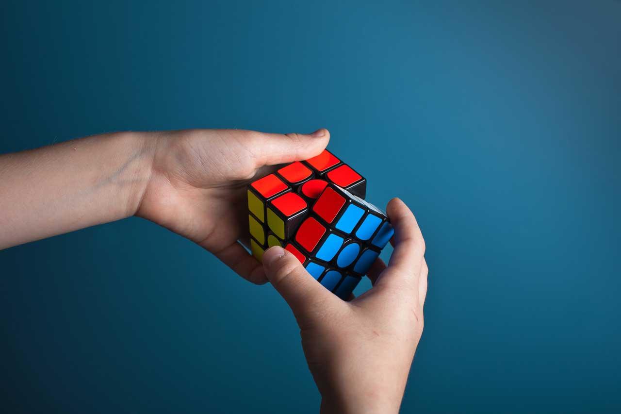Finishing a Rubik's Cube