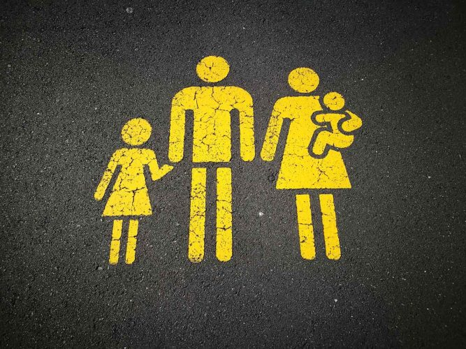 Family Street Marking