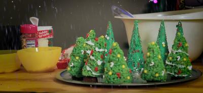 christmas treats and making supplies
