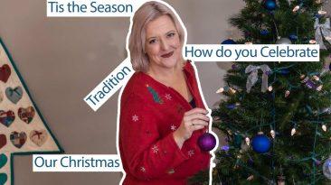 hanging ornament on Christmas tree