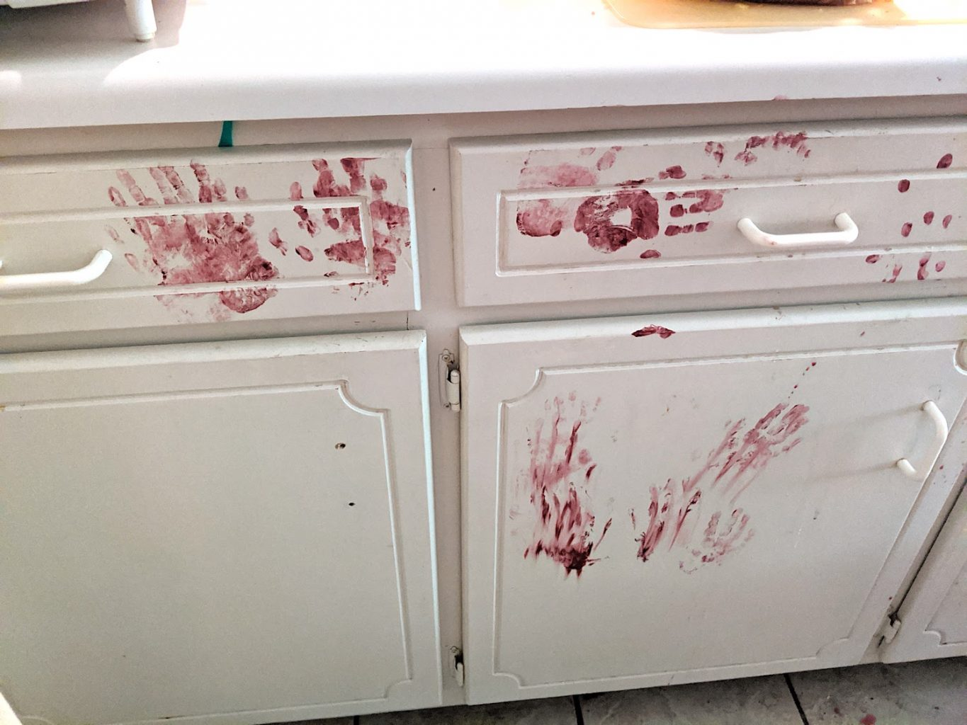 paint on cabinets