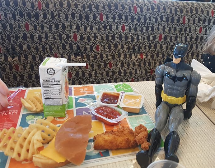 batman at lunch
